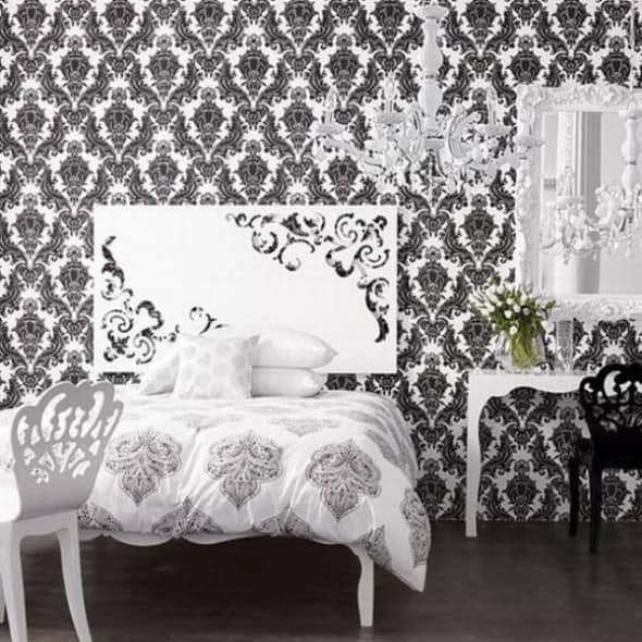 vintage style in your room architecture decorating ideas ForBlack And White Vintage Bedroom Ideas